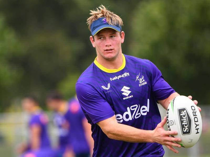 The Melbourne Storm's Harry Grant will miss the opening three NRL matches for the club.